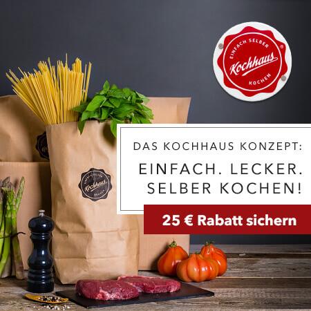 Kochhaus Kochbox im Bild dargestellt