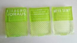 Kühlakkus grün bedruckt