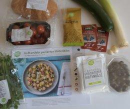 Rezeptkarte und Zutaten Hirtenkäseoumi