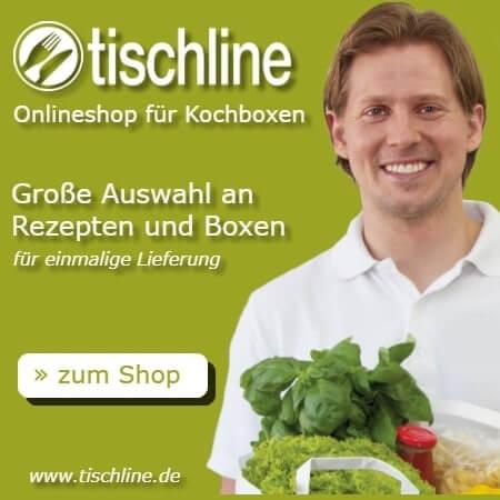 Das Angebot von Tischline wird vorgestelle