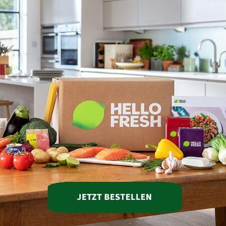 Hellofresh Box im Bild